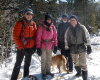 20180224 Golden Gate Canyon SP Arvada Hiking Meetup