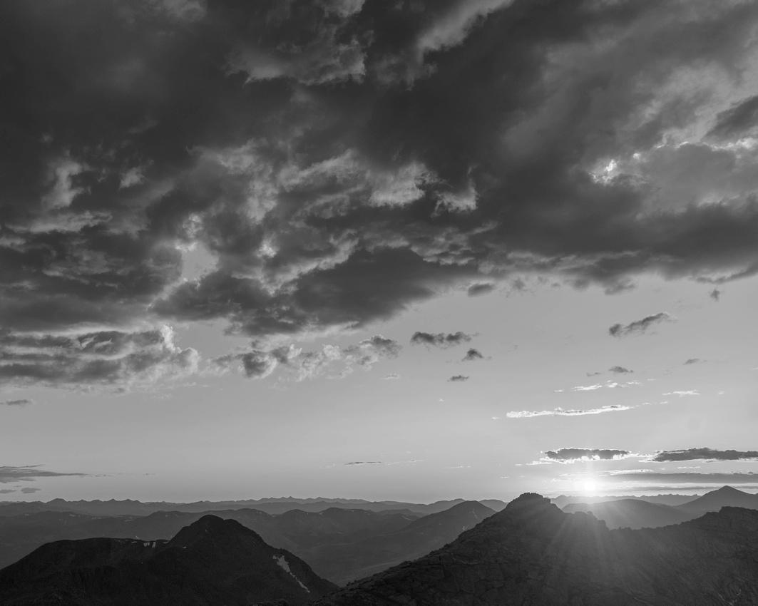 Mt Evans Sunset